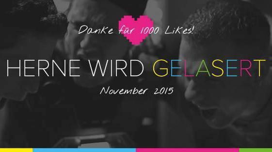 BLAZE Lasertag 1000 likes