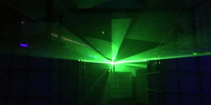 blaze Lasertag nrw Nebelkanone
