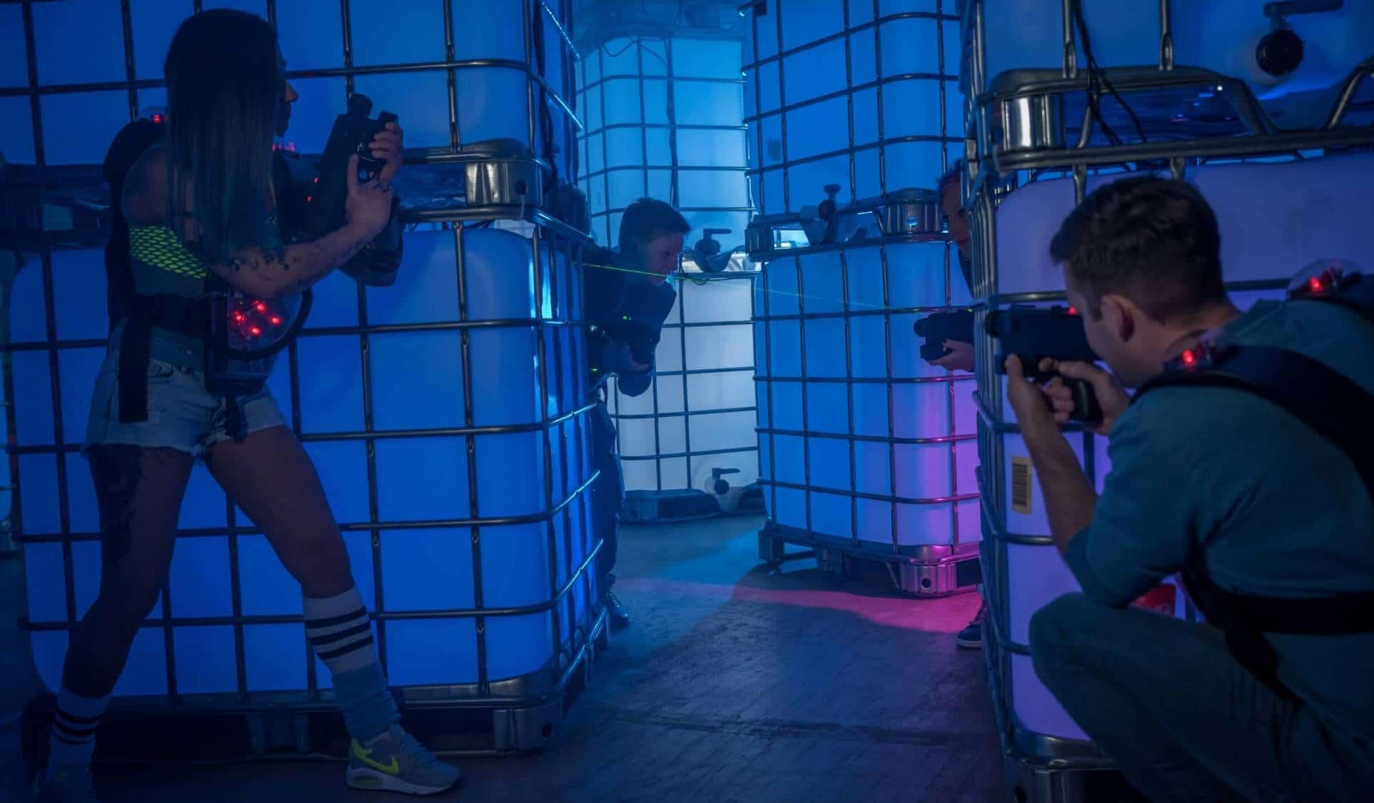 blaze lasertag summerdeal 6,50 euro pro spiel